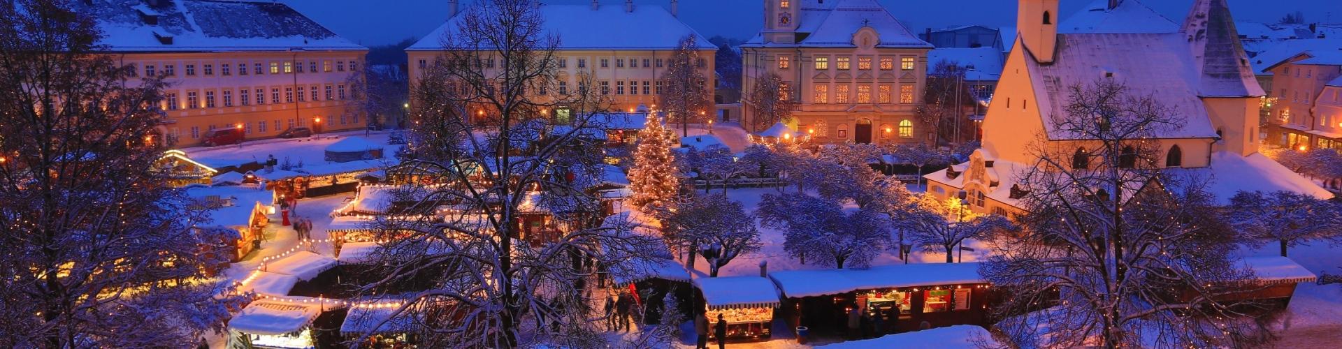 Weihnachtsmarkt Oberammergau.Altöttinger Christkindlmarkt Tourismus Altötting
